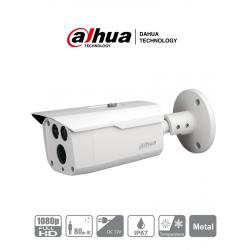 HFW1200D36 - Cámara Bala HDCVI 1080p / Lente de 3.6 mm / 87.5 Grados de Apertura / IR de 80 Mts / IP66 / TVI, AHD y CVBS