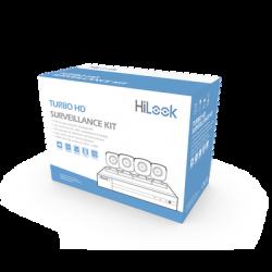 HL24LQKITS-M - Kit TurboHD 1080p / DVR 4 Canales / 4 Cámaras Bala de Metal / 4 Cables 18 Mts / 1 Fuente de Poder