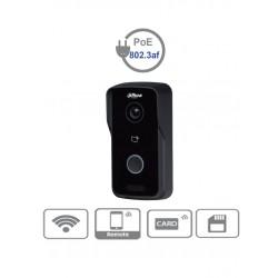 VTO2111DWP - Frente de Calle IP Independiente / WiFi / P2P / Cámara 1 MP / H.264 / Apertura Remota / Para Exterior IP65