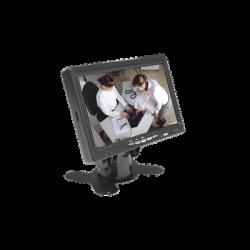 """BMG7030H - Monitor 7"""" / Entradas de Video: HDMI, VGA y RCA / Ideal para CCTV"""