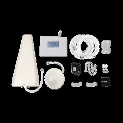 EPTB4G - Kit Amplificador de Señal Celular 4G LTE | Múltiples Operadores | Múltiples Tecnologías | Cobertura Hasta 500 m2