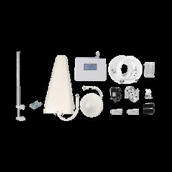 EPTB4GCMLP- Kit Amplificador de Señal Celular 4G LTE | Múltiples Operadores | Múltiples Tecnologías | Hasta 500 m2 / Mástil