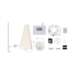 EPTB4GCMLP- Kit Amplificador de Señal Celular 4G LTE / Múltiples Operadores / Múltiples Tecnologías / Hasta 500 m2 / Mástil