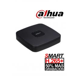 XVR4104CNX1 - DVR 1080P Lite / H.265+ / Pentahibrido / 4 Canales HD + 1 Canal IP / 1 Bahía HDD / Smart Audio HDCVI / P2P