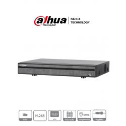XVR5104HEX1 - DVR 5 y 4 MP LITE / 1080P / H.265+ / 4 CH HD + 2 CH IP / 1 Bahía HDD / Audio HDCVI / P2P / IVS / Alarma