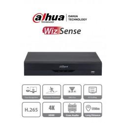 XVR5108HS4KLI2 - DVR 4K / WizSense / H.265+ / 8 CH HD + 8 CH IP o Hasta 16 CH IP / 2 CH Rec. Facial / SMD Plus / IoT & POS