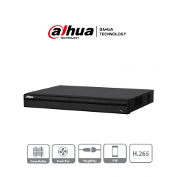 XVR4232ANX - DVR 1080P LITE / H.265 / 32 CH HD + 16 CH IP / 2 Bahías HDD / Smart Audio HDCVI / P2P
