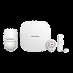 DSPWA32KS - Kit Panel de Alarma / WiFi / 3G / 4G / P2P. 1 Hub / 1 Sensor PIR / 1 Contacto Magnético / 1 Control Remoto
