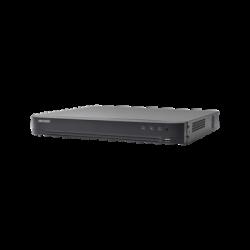 IDS7208HQHIM1FA - DVR 4 Megapixel / AcuSense / Reconocimiento de Rostros / 8 CH Turbo HD + 4 CH IP / H.265 / 1 SATA