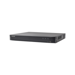 IDS7216HQHIM1FA - DVR 4 Megapixel / AcuSense / Reconocimiento de Rostros / 16 CH Turbo HD + 8 CH IP / H.265 / 1 SATA