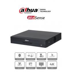 NVR2104HSPI - NVR 4 Canales IP / WizSense / Reconocimiento Facial / 4 Puertos PoE / H.265+ / Protección Perimetral