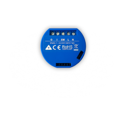 SHELLY1 - Relevador / Interruptor Switch WiFi / Hasta 16 Amp / Compatible Alexa y Google Assistant / Cloud App