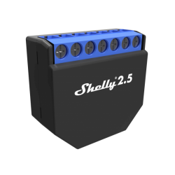 SHELLY25 - Doble Relevador / Interruptor Switch WiFi / Hasta 10 Amp / Medidor de Consumo / Protección hasta 2300 W