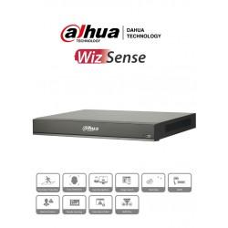 NVR42088PI - NVR 8 Canales IP / WizSense / Reconocimiento Facial / 8 Puertos PoE / H.265+ / Protección Perimetral / 200 Mbps