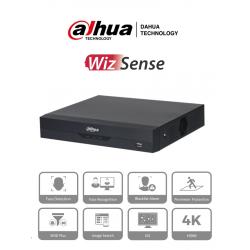 NVR2116HSI - NVR 16 Canales IP / WizSense / Reconocimiento Facial / H.265+ / Protección Perimetral