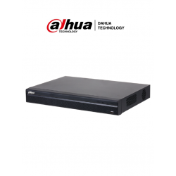 NVR42164KS2L - NVR 16 Canales IP / Smart Motion Detection por Cámara / H.265+ / 2 SATA / 128 Mbps