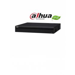 NVR5416P4KS2E - NVR 16 Canales IP / 16 Puertos PoE (8 ePoE) / H.265+ / 4 SATA / 320 Mbps / POS / Dewarping