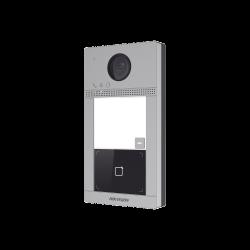 DSKV8113WME1 - Videoportero IP / WiFi / 2 MP / P2P / H.264 / PoE / Apertura desde App Hik-Connect / IP65 / IK08 / 1 Departamento