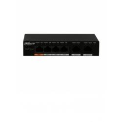 PFS30064ET60 - Switch PoE 4 Puertos / 2 Puertos UpLink Ethernet / 802.11af y at/ Hi PoE / 10/100 Mbps / 60 Watts