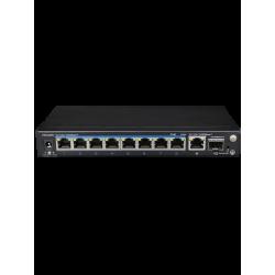 UTP3GSW0802TSP120 - Switch PoE 4 Puertos Gigabit / 1 Puerto Gigabit / 1 Puerto SFP / 802.11af y at/ Modo CCTV / 120 Watts