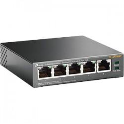 TLSF1005P - Switch PoE 4 Puertos / 1 Puerto LAN / 802.11af / Modo Prioridad / 58 Watts