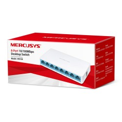 MS108 - Switch No Administrable  / 8 Puertos 10/100 Mbps Fast Ethernet