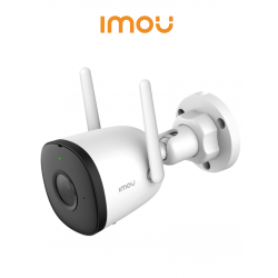 IMOU BULLET - Cámara IP Bala 2 Megapixel / H.265 / Lente 2.8 mm / IR 30 mts / WiFi / Audio / Micro SD / Puerto Ethernet