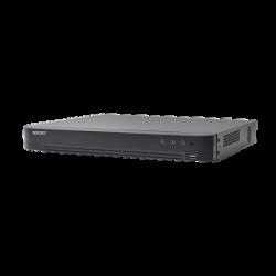 EV4008TURBOD - DVR 4 Megapixel / 8 Canales TURBOHD + 4 Canales IP / H.265+ / 1 Canal de Audio / Audio por Coaxitron