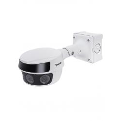 MS9321EHV - Cámara IP Panorámica 20 Megapixel / H.265 / Visión 180 Grados / IR 30 M / WDR Pro / Para Exterior IP66 / IK10