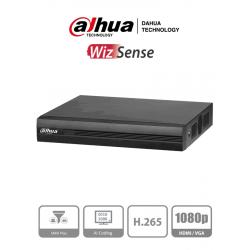 XVR1B16I - DVR 1080p LITE / WizSense / H.265+ / 16 CH HD + 2 CH IP o Hasta 18 CH IP / 8 CH SMD Plus / Smart Audio