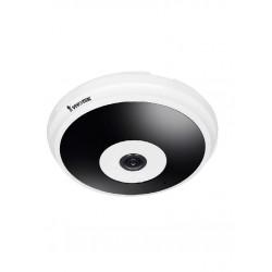 FE9182H - Cámara IP Fisheye 5 Megapixel / H.265 / Visión 360 / IR 20 M / Smart Stream II / WDR Pro / Para Interior