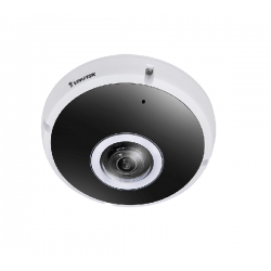 FE9391EV - Cámara IP Fisheye 12 Megapixel / H.265 / Visión 360 / IR 20 M / Smart Stream III / DWDR / Para Exterior IP66