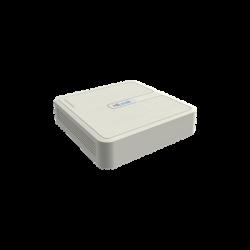 NVR-104H-D/4P - NVR 4 Megapixel / 4 Canales IP / 4 Puertos PoE+ / 1 Bahía de Disco Duro / Salida en Full HD