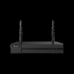 NVR-104MH-DW - NVR 4 Megapixel / 4 canales IP / 1 Bahía de Disco Duro / 2 Antenas WIFI / Salida de Vídeo Full HD