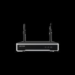 DS-7104NI-K1/W/M - NVR 4 Megapixel / 4 Canales IP / 1 Bahía de Disco Duro / 2 Antenas WIFI / Salida de Vídeo Full HD