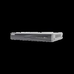 DS-7604NI-K1/4P - NVR 8 Megapixel (4K) / 4 Canales IP / 1 Bahia de Disco Duro / 4 Puertos PoE+ / Salida de Vídeo 4K