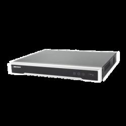 DS-7616NI-K2/16P - NVR 8 Megapixel (4K) / 16 Canales IP / 16 Puertos PoE+ / 2 Bahías Disco Duro / PoE 300 mts / HDMI en 4K