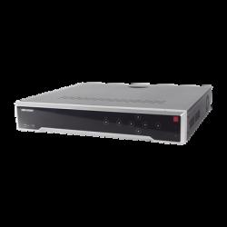 DS-7716NI-K4/16P - NVR 8 Megapixel (4K) / 16 Canales IP /16 Puertos PoE+ / 4 Bahías de Disco Duro / PoE 300 mts / HDMI en 4K