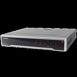 DS-7716NI-I4/16P - NVR 12 Megapixel (4K) / 16 Canales IP /16 Puertos PoE+ / 4 Bahías HDD / PoE 300 mts / HDMI 4K / Soporta POS
