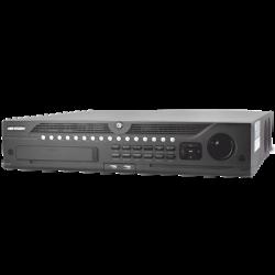 DS-9664NI-I8 - NVR 12 Megapixel (4K) / 64 Canales IP / 8 Bahías HDD / 2 Ptos. Red / Soporta RAID / HDMI 4K / Soporta POS