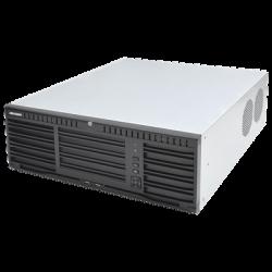 DS96128NII16 - NVR 12 Megapixel (4K) / 128 Canales IP / 16 Bahías de Disco Duro / 4 Ptos. Red / Soporta RAID / Alto Desempeño