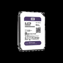 WD82PURZ - Disco Duro 8 TB / Serie PURPLE / SATA 6 Gbs / 3.5 Pulgadas / Para Videovigilancia