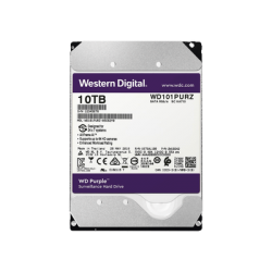 WD101PURZ - Disco Duro 10 TB / Serie PURPLE / SATA 6 Gbs / 3.5 Pulgadas / Para Videovigilancia