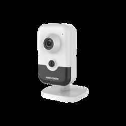 DS-2CD2443G0-IW - Cámara IP Cubo 4 Megapixel / WiFi / Lente 2.8 mm / IR EXIR 10 mts / PoE / PIR / H.265+ / MicroSD / Interior