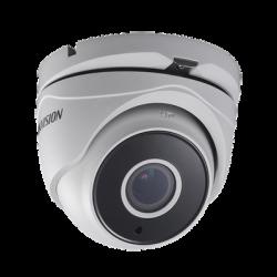 DS-2CE56D7-TIT3Z - Cámara Eyeball TurboD 1080p / Lente Mot. 2.8 a 12 mm / METALICA / IR EXIR 40 mts / Exterior IP66 / WDR 120 dB