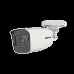 B8-TURBO-G2ZW - Cámara Bala TurboHD 1080p / Lente Mot. 2.7 a 13.5 mm / METAL / IR EXIR 70 mts / Exterior IP66 / WDR 120 dB