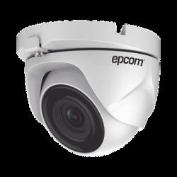E8-TURBO-G2W - Cámara Turret TurboHD 1080p / METALICA / Lente 2.8 mm / 20 mts IR EXIR / 4 Tecnologías / dWDR / Exterior IP66