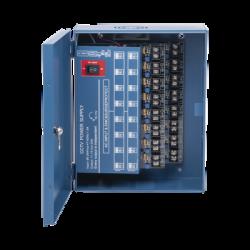 XP16-DC-20-4KV - Fuente de Poder Profesional HEAVY DUTY / 11 a 15  VCD / 20 Amp. / 16 Salidas / Soporta Cámaras 4K