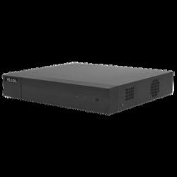DVR-204G-F1 - DVR 1080P Lite Pentahibrido / 4 Canales TURBOHD + 1 Canal IP / 1 Bahía de Disco Duro / H.264+ / 1 Canal de Audio