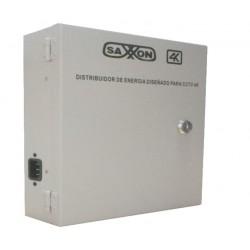 PSU1220D16H - Fuente de Poder Regulada / 11 a 15  VCD / 20 Amperes / 16 Salidas / Soporta Cámaras 4K